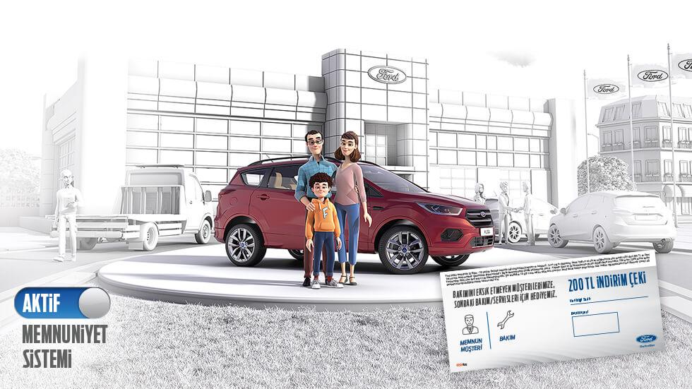 Ford Yetkili Servisine Gelin, Hem Bakımlı Hem Avantajlı Çıkın