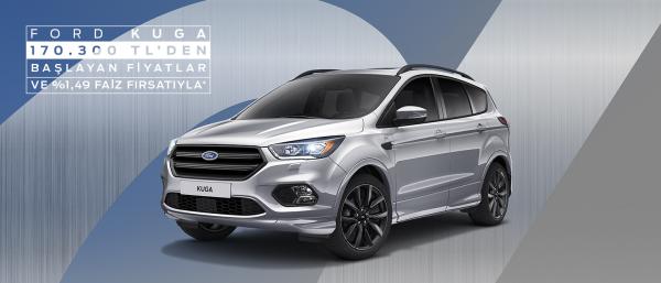 Ford Kuga'ya Özel İndirim Fırsatı