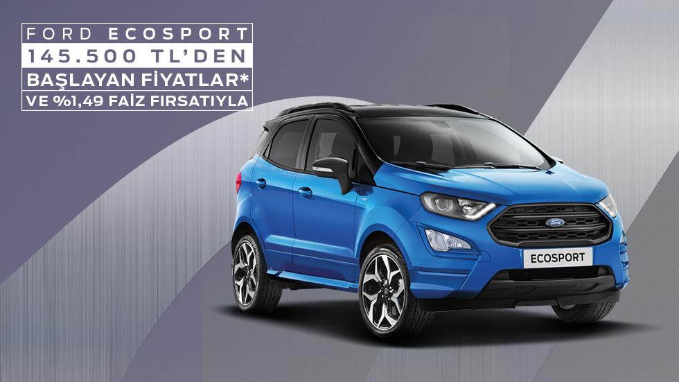 Ford EcoSport'a Özel İndirim Fırsatı
